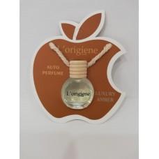 L'origiene Luxury Amber Auto Parfum-Auto Luchtverfrisser-Autogeur- Geurhanger