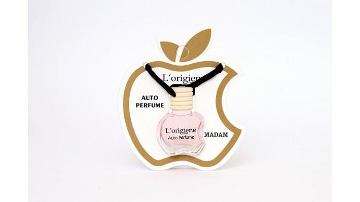 L'origiene Madam Auto Parfum   Auto Luchtverfrisser   Autogeur 10ml- Geurhanger