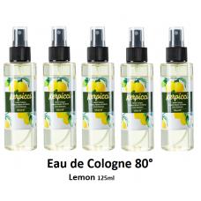 Eau de cologne Lemon 125 ml 80°-Limon Kolonya