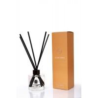 L'origiene Luxury Amber Interieurgeur-geurstokjes -Huisparfum-Interieur parfum-Reed diffuser-135ml