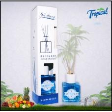 Nobren Tropische Interieurgeur-geurstokjes-Huisparfum-Interieur parfum-Reed diffuser-135ml