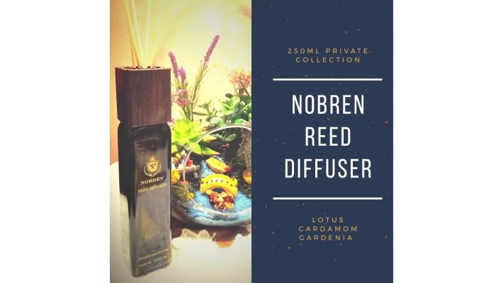 Nobren Gardenia Interieurgeur-Geurstokjes-Huisparfum-Interieur parfum-Reed diffuser-250ml