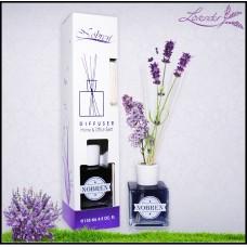 Nobren Lavendel Interieurgeur-geurstokjes -Huisparfum-Interieur parfum-Reed diffuser-135ml